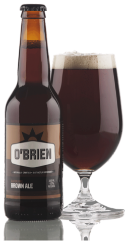 Gold Medal Awarded to O'Brien Brown Ale
