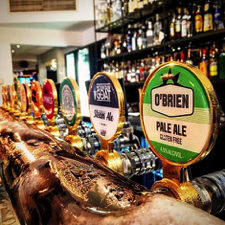 O'Brien Beer Now On Tap at Multiple Venues