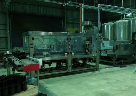 A New Bottling Machine at Rebellion Brewery