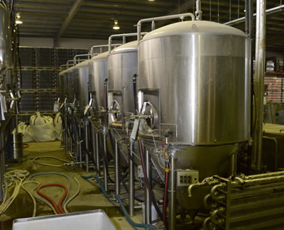 2005-2010: Commercial brewing equipment acquired